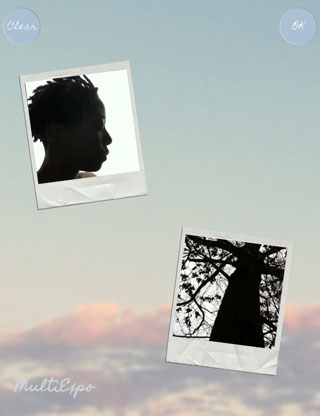 Double Exposure iPhone Silhouettes 19