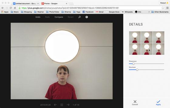Snapseed Google Plus 7