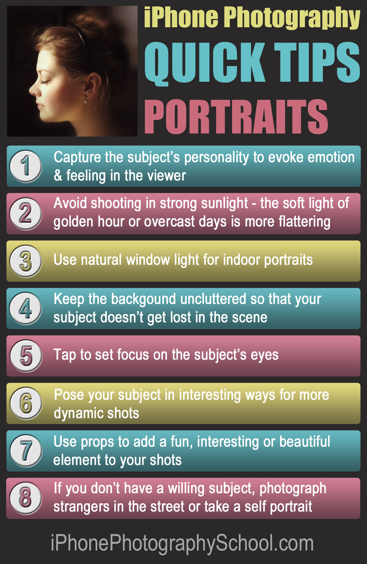 Tips To Do Your Makeup For Graduation: 8 Quick Tips For Taking Beautiful IPhone Portrait Photos