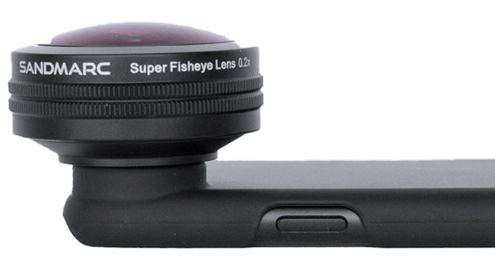 Sandmarc lenses for iphone x 1 fisheye