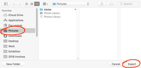 How to transfer photos from iphone to mac 2