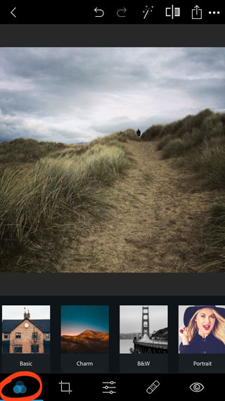 Photoshop express app for iphone 16
