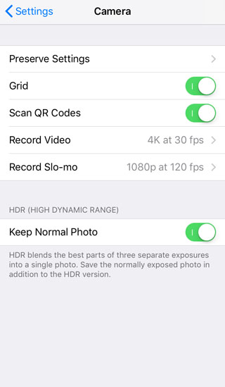 How To Use iPhone Camera App Grid