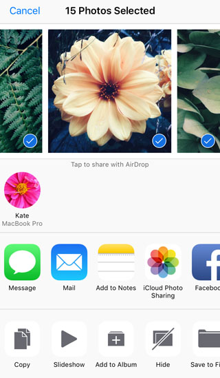 How To Transfer Photos From iPhone To Mac AirDrop