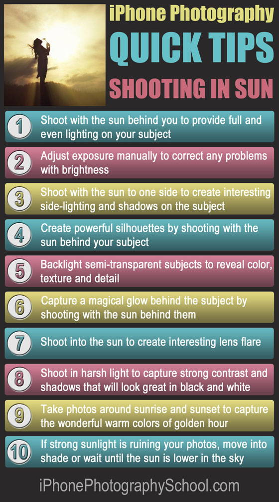 iPhone Sun Photos Quick Tips